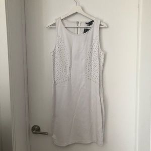 Armani Exchange white dress. New. L.